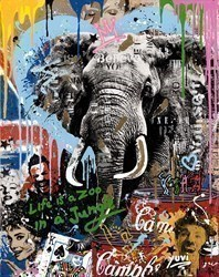 In Your Wildest Dreams I by Yuvi - Box Canvas sized 24x34 inches. Available from Whitewall Galleries